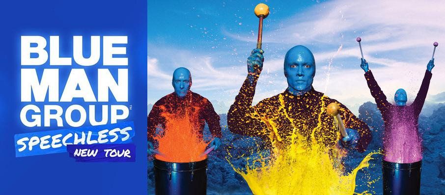 Blue Man Group at Emens Auditorium